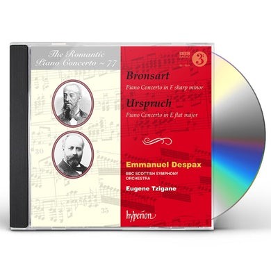 Emmanuel Despax ROMANTIC PIANO CONCERTO 77 CD