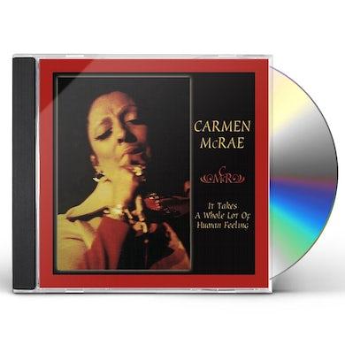 Carmen McRae IT TAKE A WHOLE LOT OF HUMAN CD