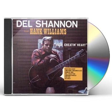 Del Shannon SINGS HANK WILLIAMS CD