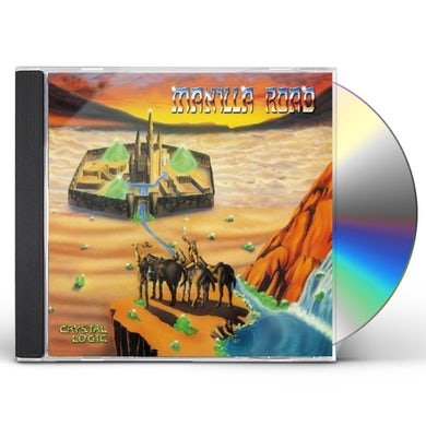 Manilla Road CRYSTAL LOGIC CD