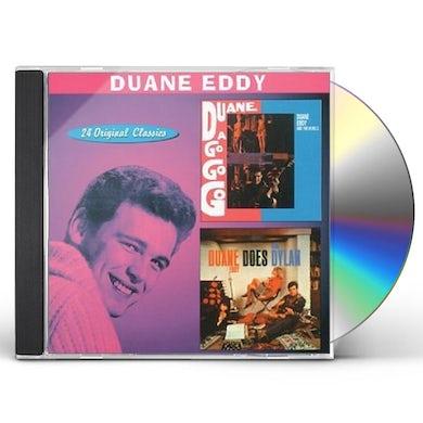 Duane Eddy DUANE A GO-GO / DOES BOB DYLAN CD