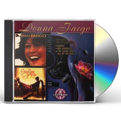 Donna Fargo ON THE MOVE / JUST FOR YOU CD