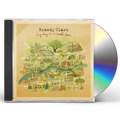 Brandy Clark BIG DAY IN A SMALL TOWN CD