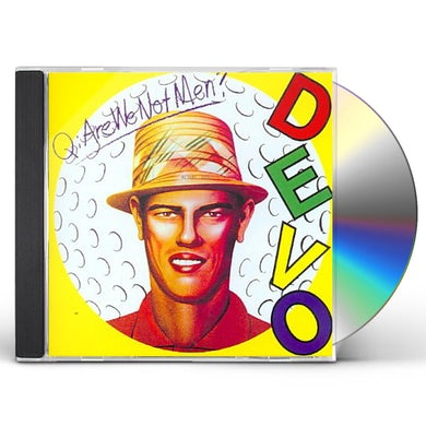 Q: ARE WE NOT MEN A: WE ARE DEVO CD