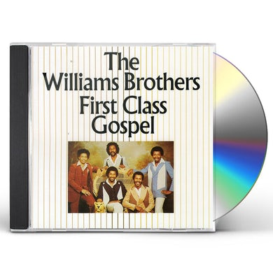 Williams Brothers FIRST CLASS GOSPEL CD