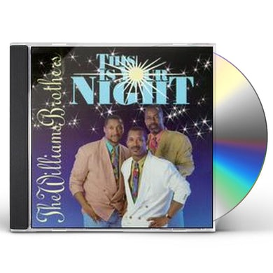 Williams Brothers THIS IS YOUR NIGHT CD