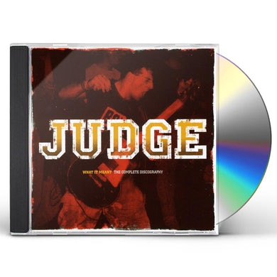Judge WHAT IT MEANT: COMPLETE DISCOGRAPHY CD