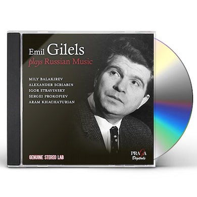 Emil Gilels PLAYS RUSSIAN MUSIC CD