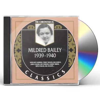 Mildred Bailey 1939-1940 CD