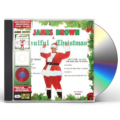 James Brown SOULFUL CHRISTMAS CD