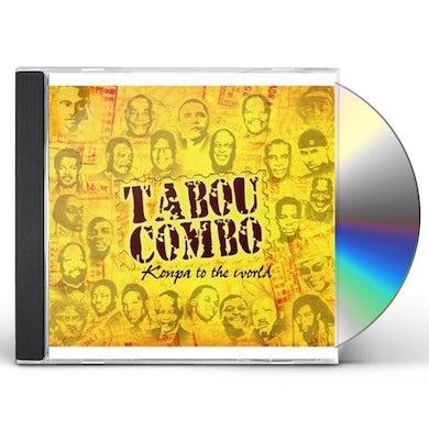 Tabou Combo KONPA TO THE WORLD CD