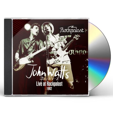John Watts LIVE AT ROCKPALAST CD