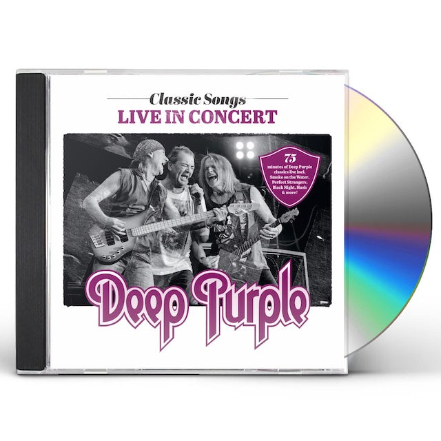 Deep Purple CLASSIC SONGS LIVE IN CONCERT CD