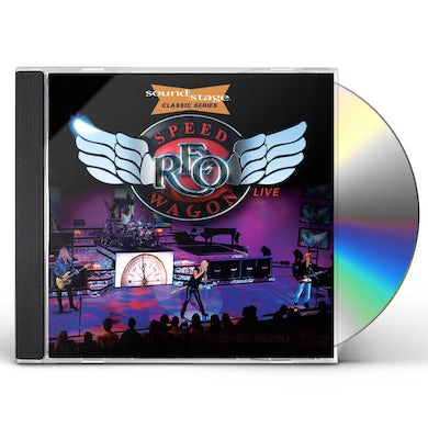 Reo Speedwagon LIVE ON SOUNDSTAGE (CLASSIC SERIES) CD