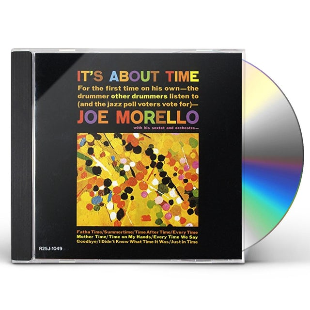 Joe Morello IT'S ABOUT TIME: LIMITED EDITION CD