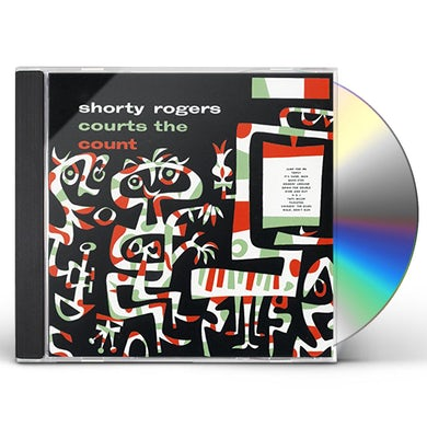 Shorty Rogers COURTS THE COUNT: LIMITED EDITION CD