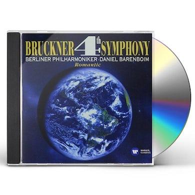 Daniel Barenboim BRUCKNER: SYMPHONY 4 ROMANTIC CD