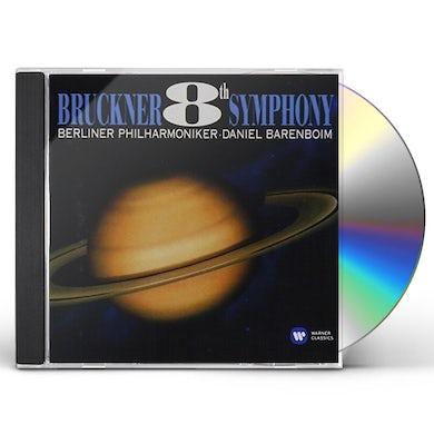 Daniel Barenboim BRUCKNER: SYMPHONY 8 CD