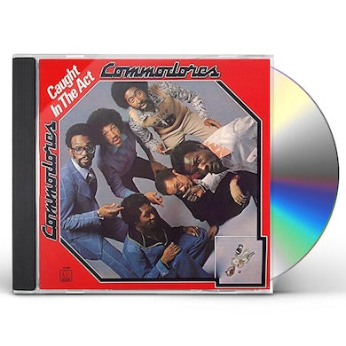 Commodores CAUGHT IN THE ACT CD