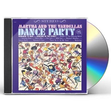 Martha & The Vandellas DANCE PARTY CD