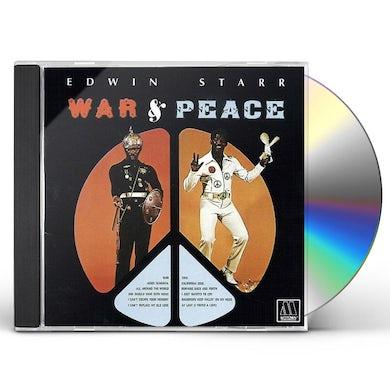Edwin Starr WAR & PEACE CD