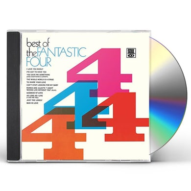 BEST OF THE FANTASTIC FOUR CD