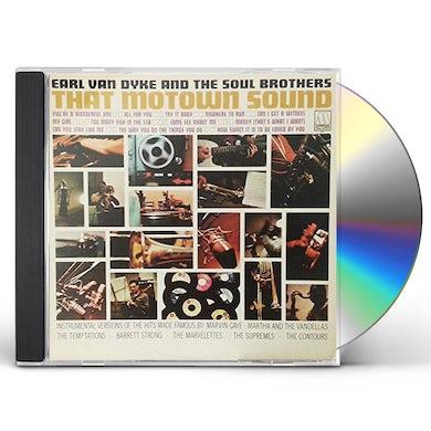 Earl Van Dyke THAT MOTOWN SOUND CD