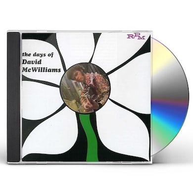 DAYS OF DAVID MCWILLIAMS CD