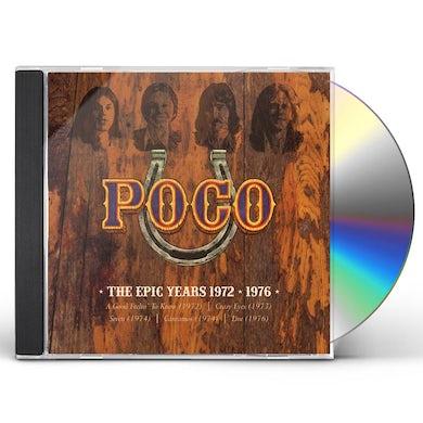 Poco EPIC YEARS 1972-1976 CD