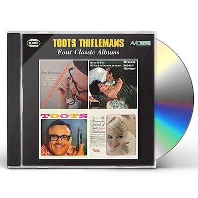 Toots Thielemans MAN BITES HARMONICA / BLUES POUR FLIRTER CD