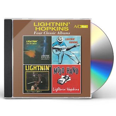 Lightnin Hopkins LIGHTNIN' & THE BLUES / COUNTRY BLUES / IN NEW CD