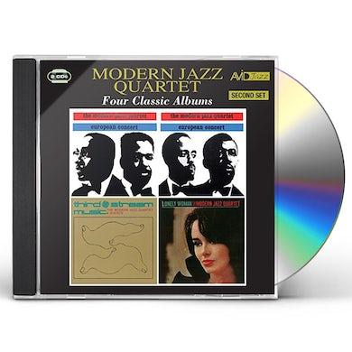 The Modern Jazz Quartet EUROPEAN CONCERT V. 1 & 2 / THIRD STREAM MUSIC CD