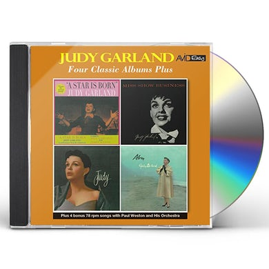 Judy Garland STAR IS BORN / MISS SHOW BUSINESS / JUDY / ALONE CD