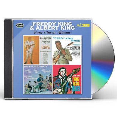 Freddie King LET'S HIDE AWAY & DANCE AWAY / SINGS / BOY GIRL CD