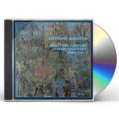 Anthony Braxton KNITTING FACTORY PIANO/QUARTET 1 1994 CD