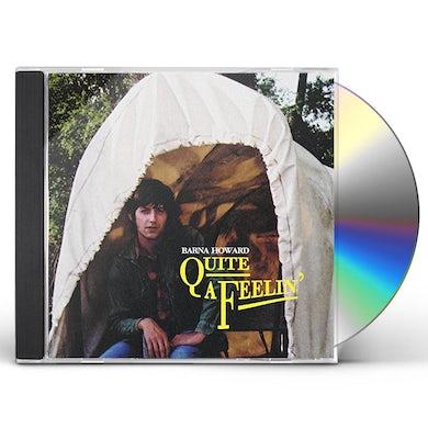 Barna Howard QUITE A FEELIN' CD