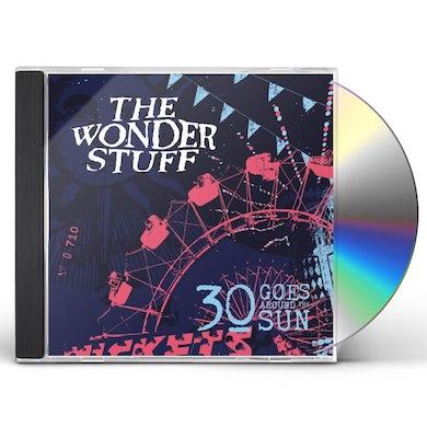 Wonder Stuff 30 GOES AROUND THE SUN CD