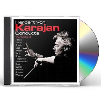 Herbert Von Karajan  CONDUCTS CD