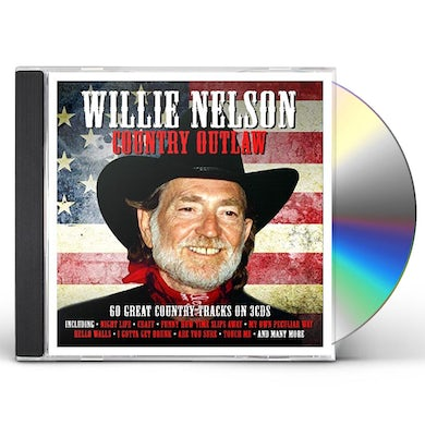 Willie Nelson COUNTRY OUTLAW CD