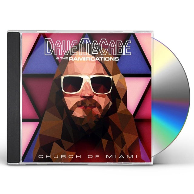 Dave McCabe CHURCH OF MIAMI CD