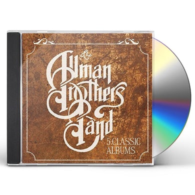 The Allman Brothers Band  5 CLASSIC ALBUMS CD