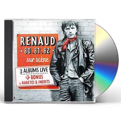 Renaud COFFRET 4 CDS LIVE CD