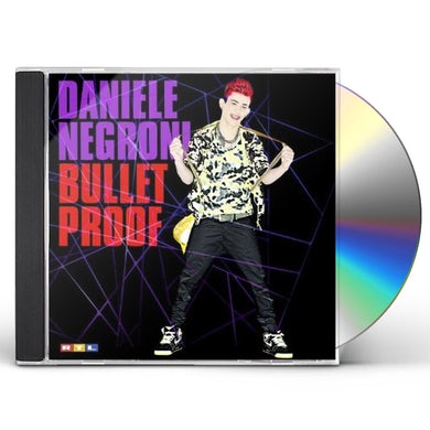 Daniele Negroni BULLET PROOF CD