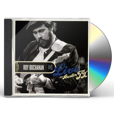 Roy Buchanan LIVE FROM AUSTIN TX CD