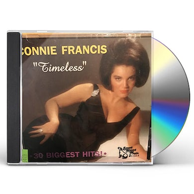 Connie Francis TIMELESS / 30 GREATEST HITS CD