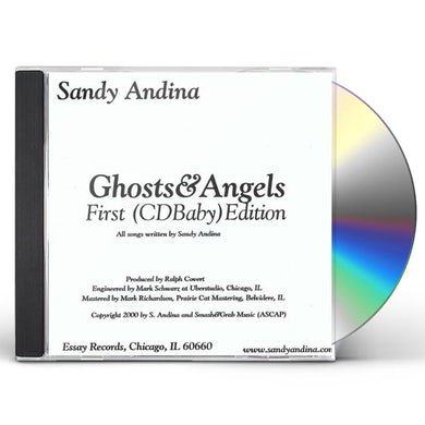 Sandy Andina GHOSTS & ANGELS CD