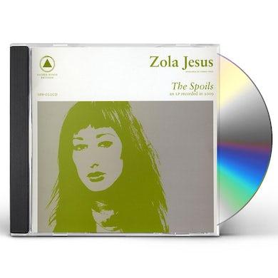 Zola Jesus SPOILS CD