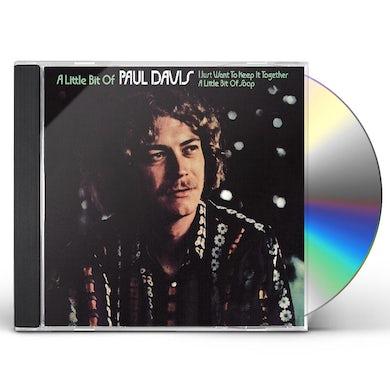 LITTLE BIT OF PAUL DAVIS CD