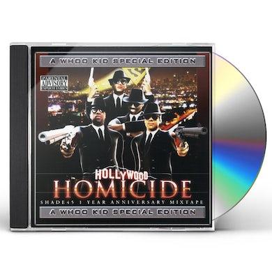 Dj Whoo Kid HOLLYWOOD HOMICIDE CD