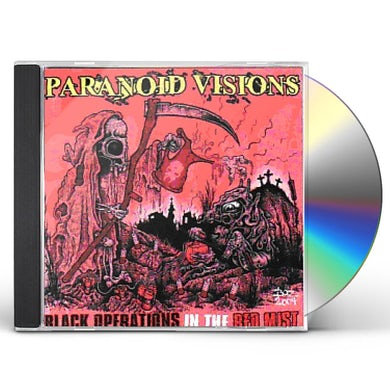 Paranoid Visions BLACK OPERATIONS IN THE RED MIST CD